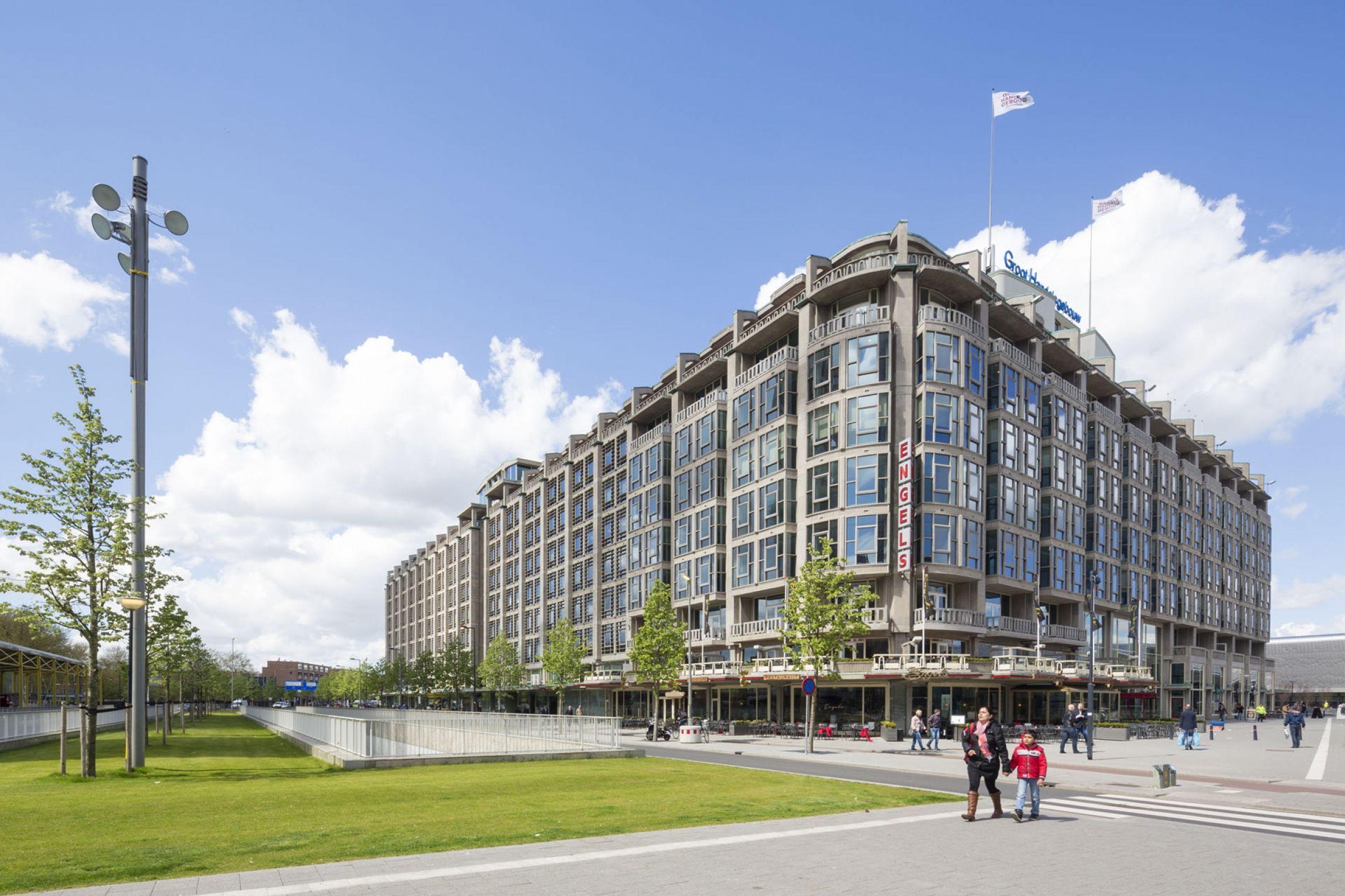 Eén van de symbolen van de Rotterdamse wederopbouw