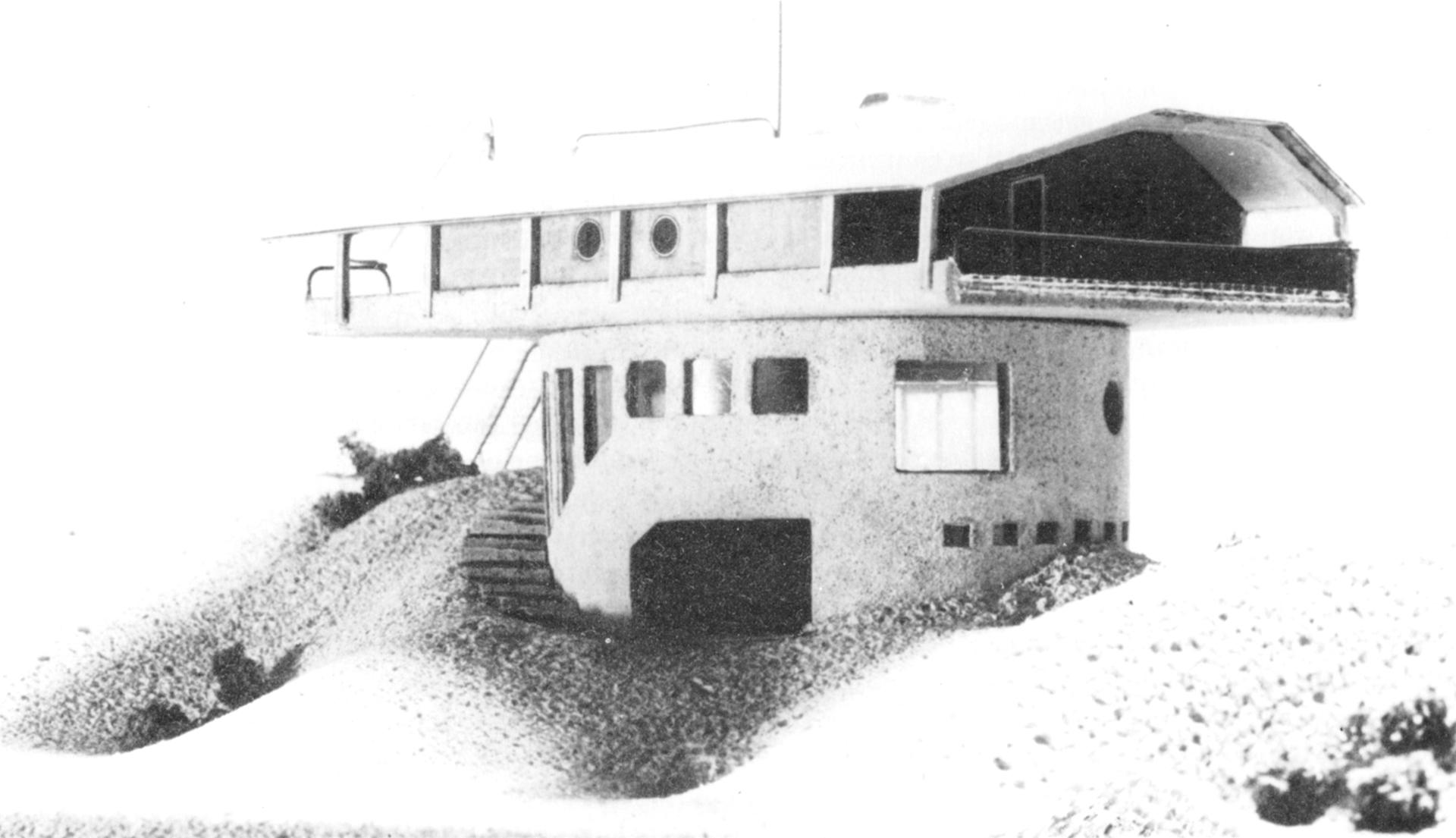 Draaibaar strandpaviljoen